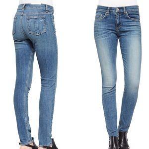 Rag and bone | high rise skinny jeans 0910